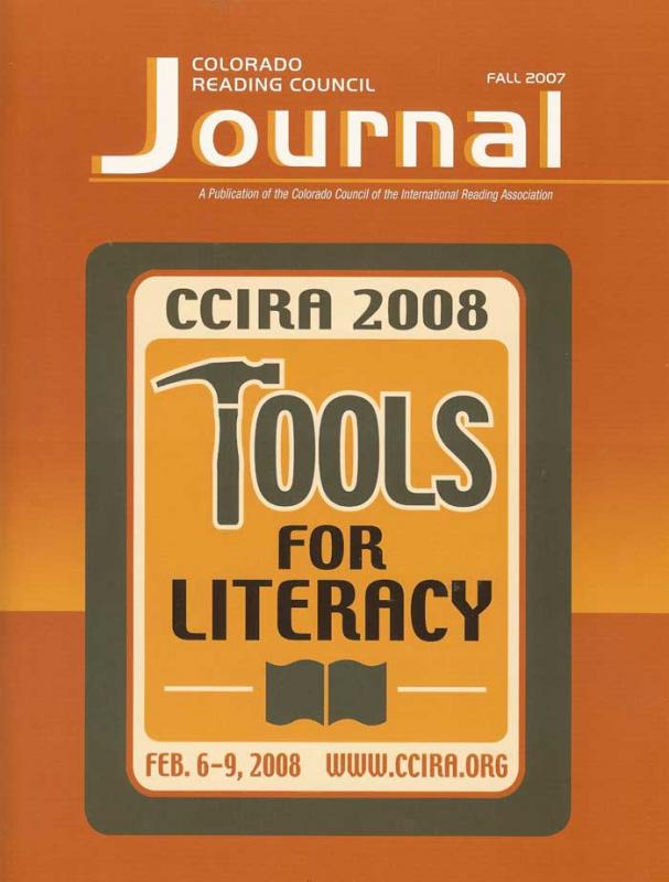 Colorado Reading Council Journal